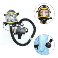 Workplace Safety Supplie respirator Protective Electric Constant Flow Supplied Air Fed Respirator System Full Face Gas Mask