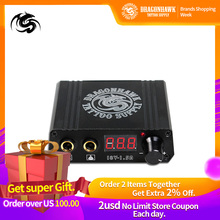 Top Quality  Mini Tattoo Power Box LCD For Machine Dragonhawk Supply