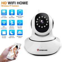 ZGWANG 1080P Wireless Security IP Camera Wifi Home CCTV Surveillance Camera P2P IR-Cut Night Vision Network Indoor Baby Monitor daytech 1080p wireless ip camera 2mp wifi home security surveillance camera wi fi network cctv indoor ir night vision pan tilt