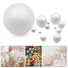 New XMAS Party Polystyrene Styrofoam Foam Ball Round DIY Accessory Handmade For Party celebration Decorations Craft DIY All Size