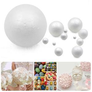 New XMAS Party Polystyrene Styrofoam Foam Ball Round DIY Accessory Handmade For Party celebration Decorations Craft DIY All Size(China)