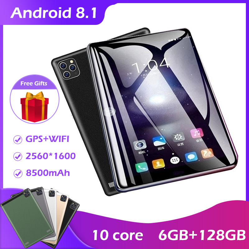 2020Tablet PC10 1Inch IPS Screen 10core 6GB   128GB Android 8 1 Tablet Dual SIM Card Three Camera New Tablet