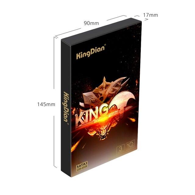 KingDian SSD 120gb 240gb 480gb 1tb 2tb 128gb 256gb 512gb SSD SATA SATAIII Internal Hard Drive HD SSD HDD 2.5 Solid State Disk