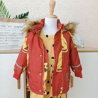 Lashojas 2019 New winter fashion Kids girls jacket children plus thick jacket big virgin long warm coat for cold winter