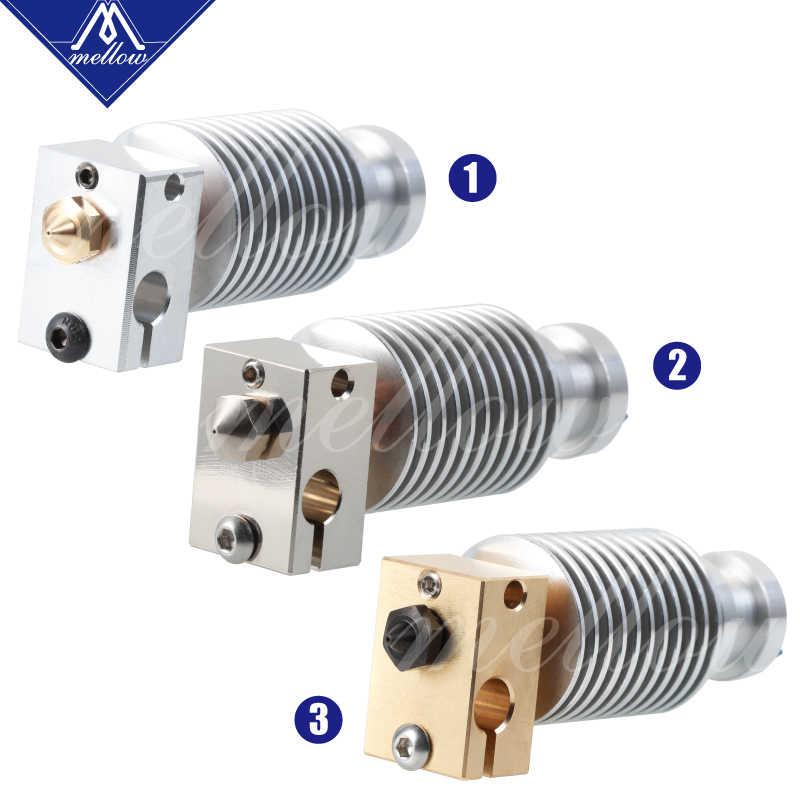 Yumuşak tüm Metal NF V6-Crazy Voron Bimetal ısı sonu j-kafa Hotend Bowden ekstruder için E3d V6 Hotend 3D yazıcı parçaları