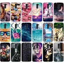 цена на For LG K10 k10 Case Silicone Back Cover Case For LG K10 LTE K420N K430 K430ds K430DSF K430DSY Luxury Soft TPU Protector Bags