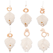 Pendants-Accessories Teeth-Pendant Baby Pacifier Room-Decoration Gym-Frame Cotton-Leaves
