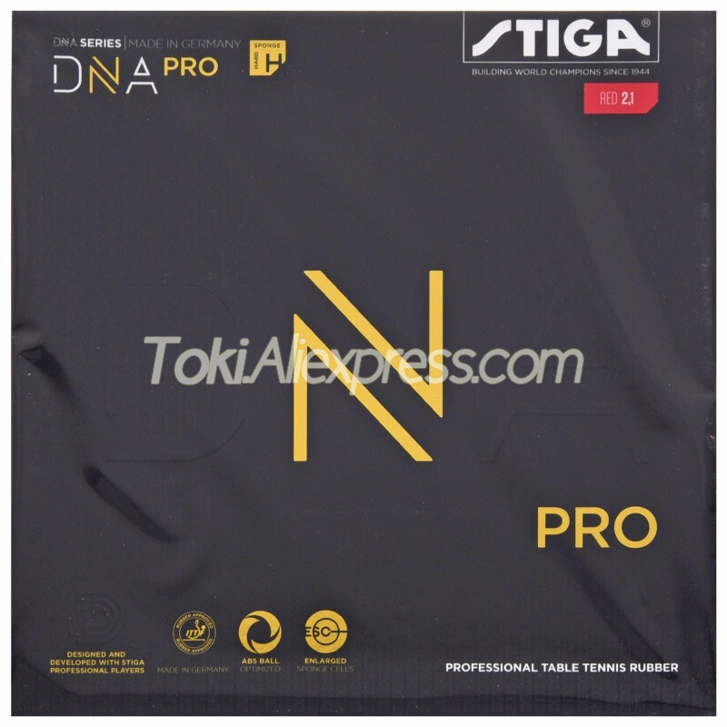 STIGA DNA PRO M / H Table Tennis Rubber (Made In Germany) Pips-in Original STIGA DNA Ping Pong Sponge