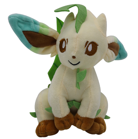 Anime Toys Hobbies Leafeon Cartoon Character Stuffed Animals Plush Kids Toys Great Gift