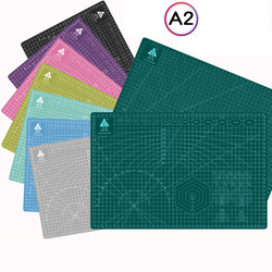60*45 см A2 разделочная доска сетка линия самоисцеляющая разделочная доска Ремесло карта многоцветная двусторонняя настольная разделочная пл...