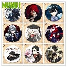 Livraison gratuite Anime noir majordome broche broche Cosplay Badge accessoires pour vêtements sac à dos décoration enfants cadeau B003