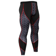 Men Compression Leggings Gym Fitness Pants Running Sport Tights Jogging Trousers Male Crossfit Training MMA Sportswear Bottoms цена