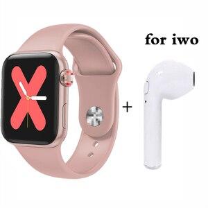 На весь день, яркий дисплей, 80%, серия Close 5, Смарт часы, 40 мм, сменный Браслет, умные часы для мужчин и женщин, для IOS, Android, PK Iwo10, W54, W55