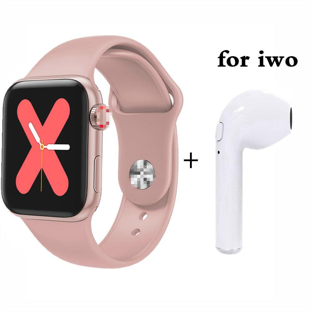 Saatler'ten Sevgili Saatleri'de Tüm gün parlak ekran 80% yakın serisi 5 akıllı saat 40mm değişimi bilezik Smartwatch erkekler kadınlar IOS Android PK iwo10 W54 W55 title=