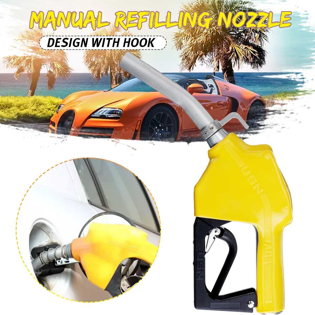Car Fuel Filling Nozzle-Gun Automatically Cuts Off The Diesel-Fuel-Gun Aluminium alloy 3 speeds Adjustable