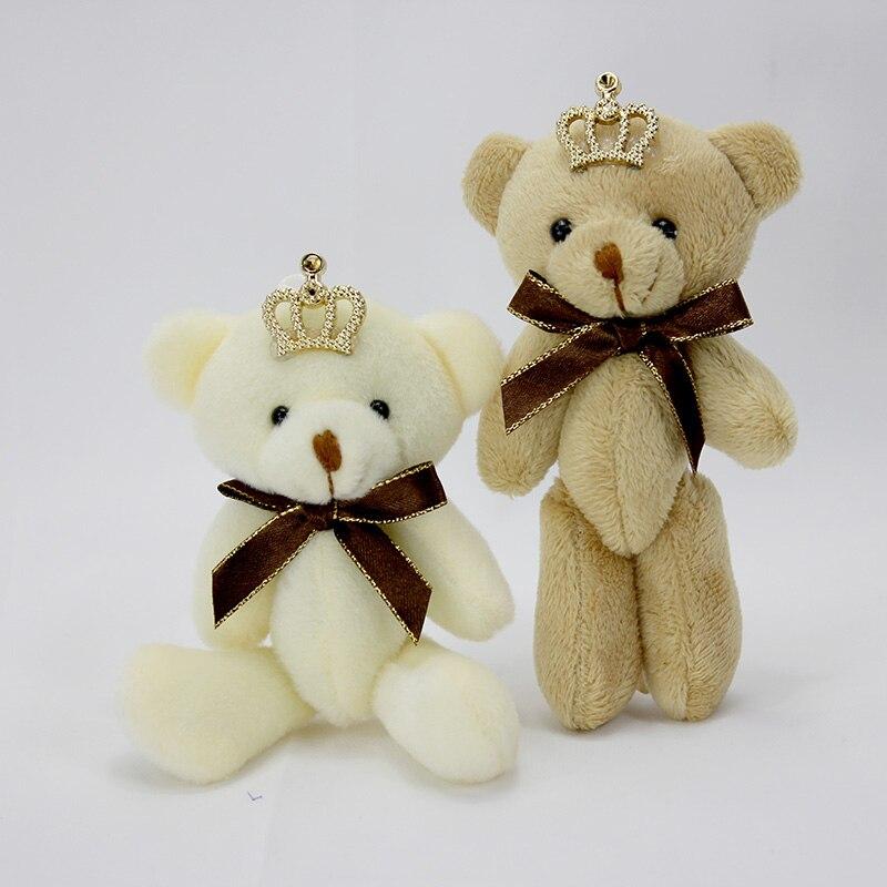 3pcs/lot 12cm cute we bare bears plush bag pendant toy
