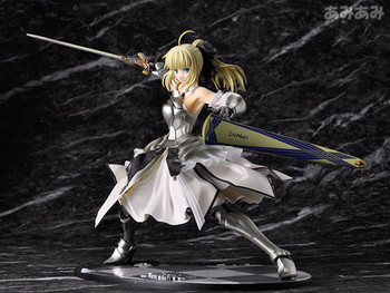 1/7 Scale Japan Anime Action Figure Fate Stay Night Unlimited Codes Saber Lily PVC 23cm Cartoon Collectible Model Collection Toy 1