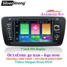 SilverStrong Android9.0 OCTACORE 4G 64G Ibiza DVD del coche para asiento Ibiza IPS de 7 pulgadas Android Radio Ibiza GPS con espejo enlace RDS