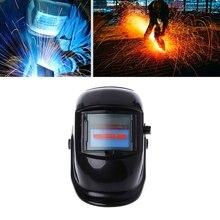 Pro Solar Auto Darkening Welding Helmet Mask Arc Tig Mig Grinding Welder Cap E65A