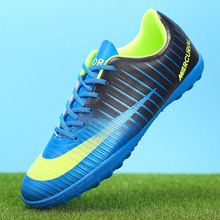Outdoor Soccer Shoes Men Lightweight Sport Summer Sneakers Breathable Football Kids Anti-Skid Boots Boys