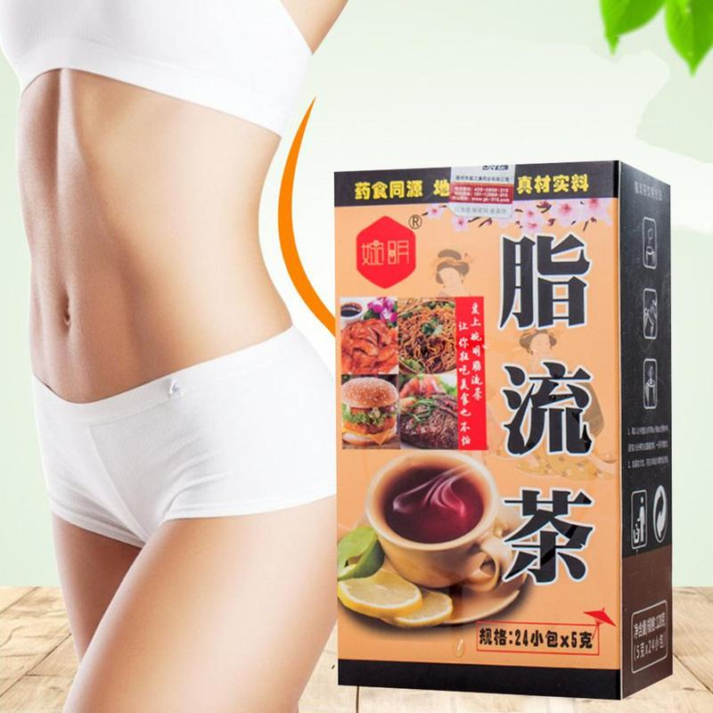 Slimming Fat Burning Natural Flower Aid Burn Fat Thin Belly Scented For Lose Weight Losing Slim Healthy Effective 24bags