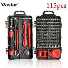 Vastar 110/115 1 精密ドライバーミニ電動ドライバーセットでiphoneのhuawei社タブレットipadのホームツールセット