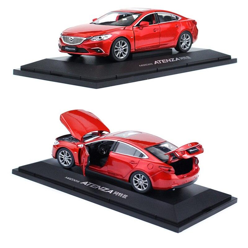 1/32 mazda atenza simulação liga carro estático porta aberta modelo carro japão zoomzoom metal brinquedo carro presentes frete grátis