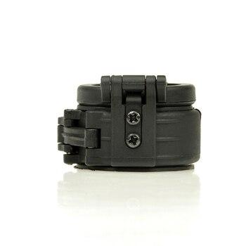 WADSN el feneri IR için kızılötesi filtre Surefir M300 M600 IR Airsoft spor taktik M600U M600W el feneri çapı 25mm