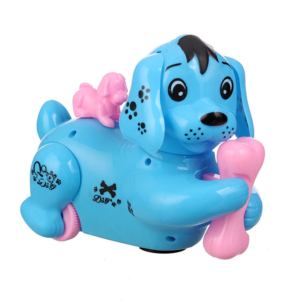 Electric Universal Dog Luminous Children'S Toy Colorful Flash Music Puzzle With Sound Puppy Gift Gift
