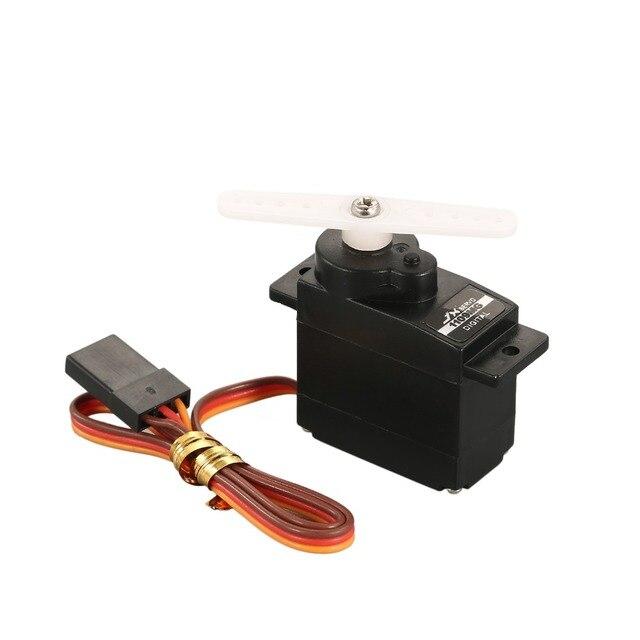 JX PDI-1109MG 9g métal engrenage noyau moteur Micro numérique Servo 4.8-6V 2.5kg pour RC avion à voilure fixe 1/18 1/24 RC voiture Robot