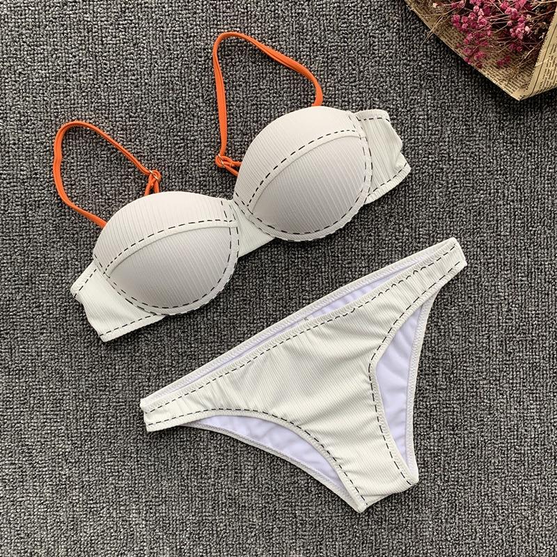 H418f564641e840a1959f9ca65609f072p sexy leopard bikinis 2019 women swimwear women bandage swimsuit push up bathing suit maillot de bain femme thong biquinis
