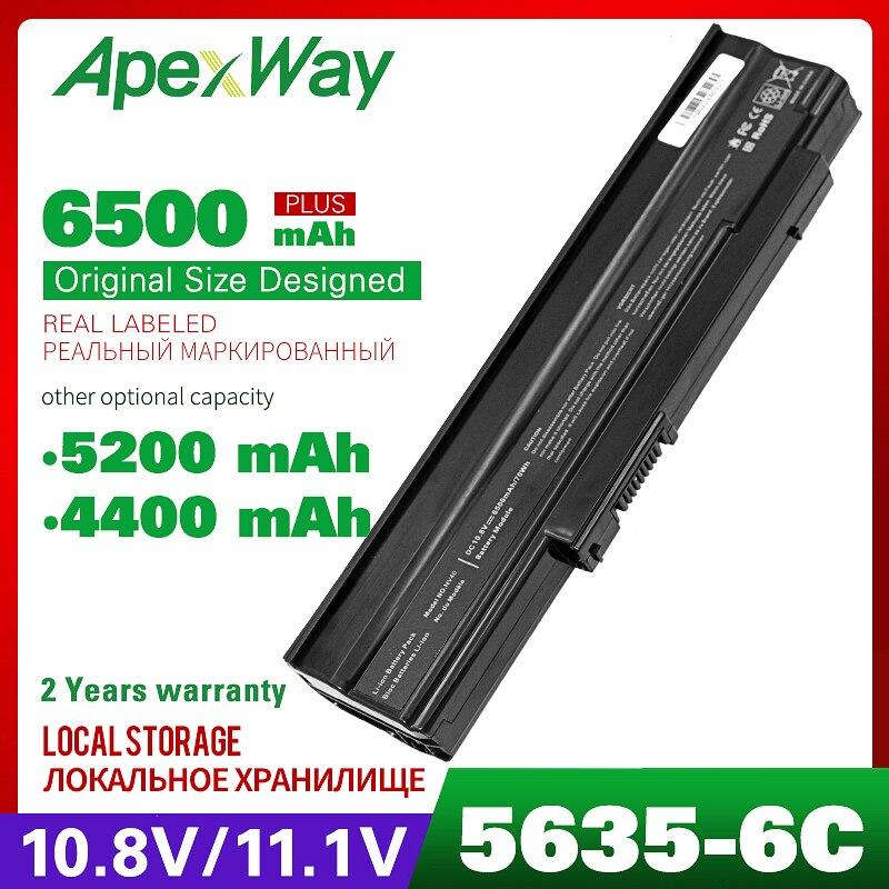 10.8V Laptop Battery For Acer AS09C31 AS09C71 AS09C75 Extensa 5235 5635 5635G 5635Z ZR6 For GateWay NV42 NV44 NV48 Series NV4400