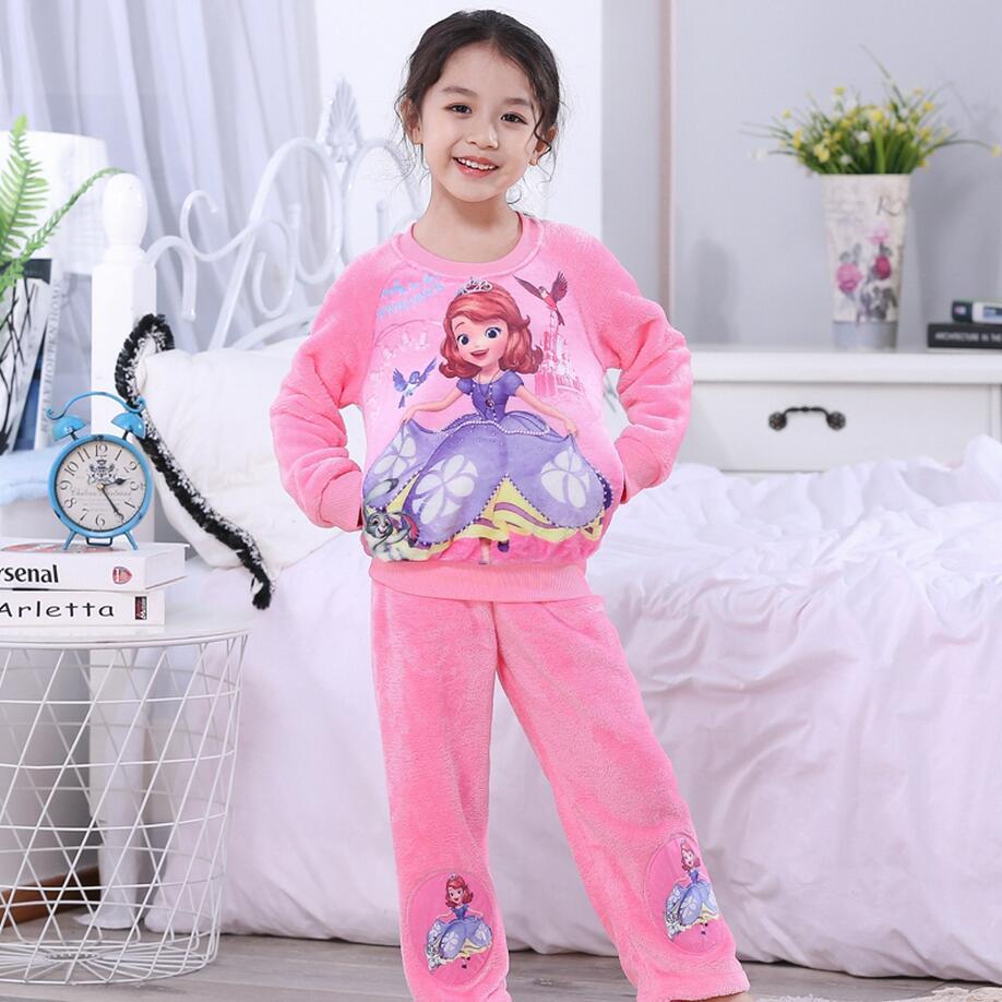Новинка года; зимняя детская флисовая Пижама; теплая фланелевая одежда для сна; домашняя одежда для девочек из кораллового флиса; детская пижама; домашняя одежда; Пижама для мальчиков - Цвет: model 25