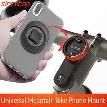 Universal Mobile Phone Holder Bicycle Aluminum Quick Mount Stand Rotatable  Mountain Bike Handlebar Bracket for Harley Davidson