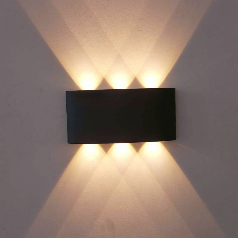 Nordic Style LED Wall Lamp 6W 8W Waterproof Outdoor Indoor IP65  Modern For Home Stairs Bedroom Bedside Bathroom Light