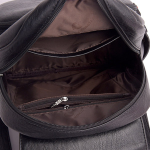 Image 5 - LANYIBAIGE Women Leather Backpacks Female Shoulder Bag Ladies Bagpack Vintage School Bags For Girls Travel Back Pack Sac A Dos