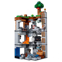 Minecraftes The Bedrock Adventures Bela New 10990 666pcs Building kits Compatible LegoING Blocks Toy for Children gift 21147
