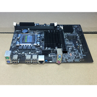 Dual Channel Office Multi Slots Integrated Accessories Desktop Stable Main Powerful Computer Motherboard For LGA 1366 DDR3