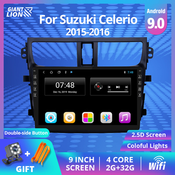 2din Android 9.0 Car Radio For Suzuki Celerio 2015-2016 Navigation Gps Car Muitimedia Video Player Stereo Head Unit Dvd Player image