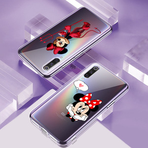 Image 3 - Silicone Cover Lovely Minnie Mouse For Xiaomi Mi Note 11 11i 10i 10T 10 9 9T SE 8 Lite Pro Ultra Phone Case