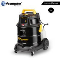 Vacmaster global 18kpa Wet Dry Vacuum Cleaner 1300W 20L Portable  Shampoo Vacuum Remote Control for Home Car Carpet Industrial
