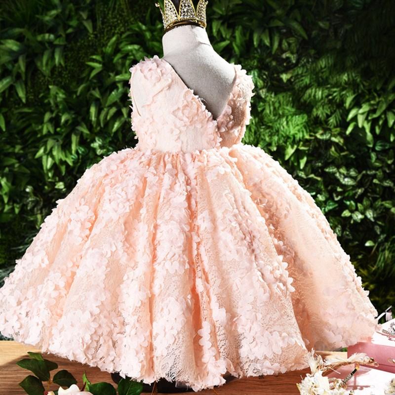 Ano novo bebê menina vestido 0-24 m 1 anos bebê meninas vestidos de aniversário para infantil rendas vestido de festa de aniversário princesa