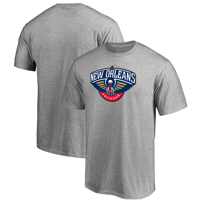 NBA-Pelican Team MEN'S Short-sleeved T-shirt Support Logo Basketball Sports Coat Source