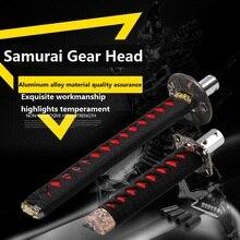 Universal 200MM/300MM JDM Katana Samurai Sword Shift Knob Shifter With Adapters Gear Shift knob car accessories