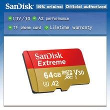 SanDisk – carte Micro SD Extreme/Ultra, 32 go/64 go/128 go/256 go/400 go/128 go, U1/U3, TF, mémoire Flash, 4K
