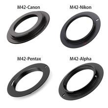 Адаптер объектива камеры M42 байонетный объектив для EF AI AF PK NEX OM для Canon EOS Nikon Sony Alpha Pentax Olympus DLSR