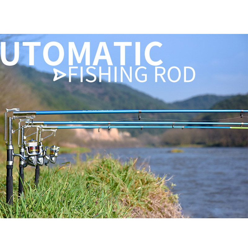 2.1/2.4/2.7m Automatic Fishing Rod Sensitive Telescopic Pole Sea Ice Glass Fiber Carp Fishing Tool Carp Fishing Rod feeder Hard