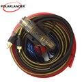 Автомобильный аудио провод усилитель монтажный комплект усилитель силовой кабель 1500 Вт 10GA сабвуфер динамик с AGU предохранитель высокое кач...