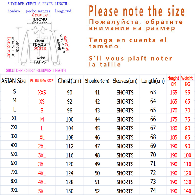 Fashion Half Short Sleeves Fashion Print T-shirt   6