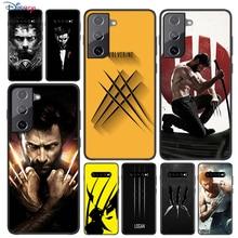 Soft Black Cover Wolverine Marvel For Samsung Galaxy S21 S20 FE Ultra S10 S10e Lite S9 S8 S7 Edge Plus Phone Case